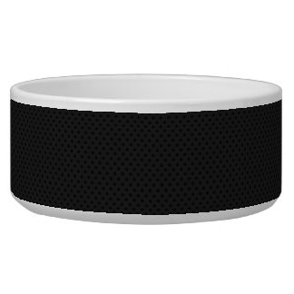 Black Micro Pinhole Fiber Bowl