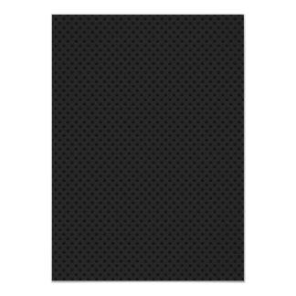 Black Micro Pinhole Fiber Card