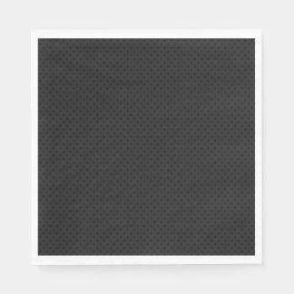 Black Micro Pinhole Fiber Paper Napkin