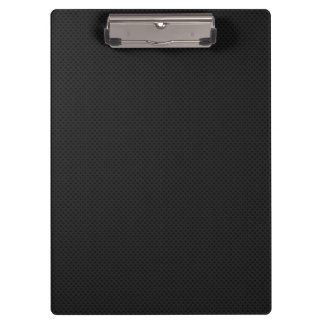 Black Micro Pinhole Kevlar Carbon Fiber Clipboards