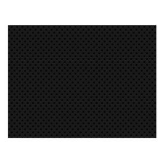 Black Micro Pinhole Kevlar Carbon Fiber Postcard