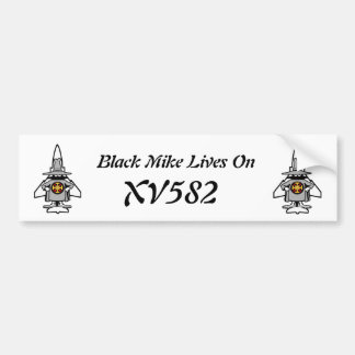 Black Mike bumper sticker