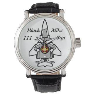 Black Mike Spook 111 Sqn Wristwatch