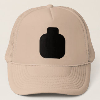 Black Minifig Head by Customize My Minifig Trucker Hat