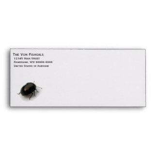 Black Minute Hooded Beetle Envelope