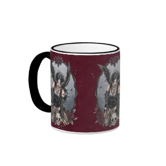 Black Misery Angel Mug mug