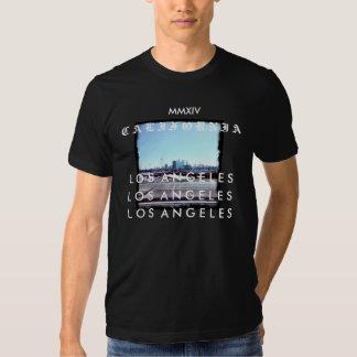 Black MMXIV Los Angeles Tee Shirt