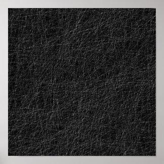 Black modern pattern poster