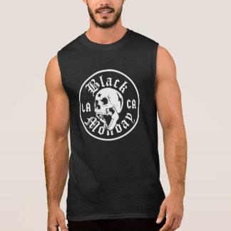 Black Monday Bowling Muscle T Sleeveless Tee