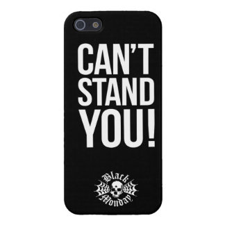 Black Monday Can't Stand You iPhone 5 case
