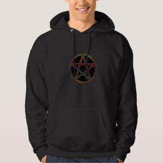 Black Moon Mens Hood Sweat shirt