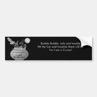 Black Moon Society Member Bumper Sticker