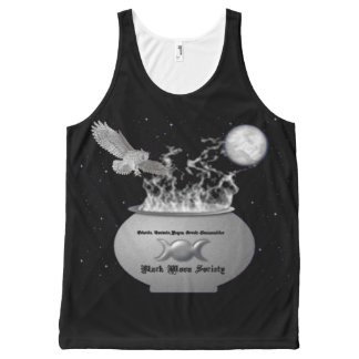 Black Moon Society Unisex Tank