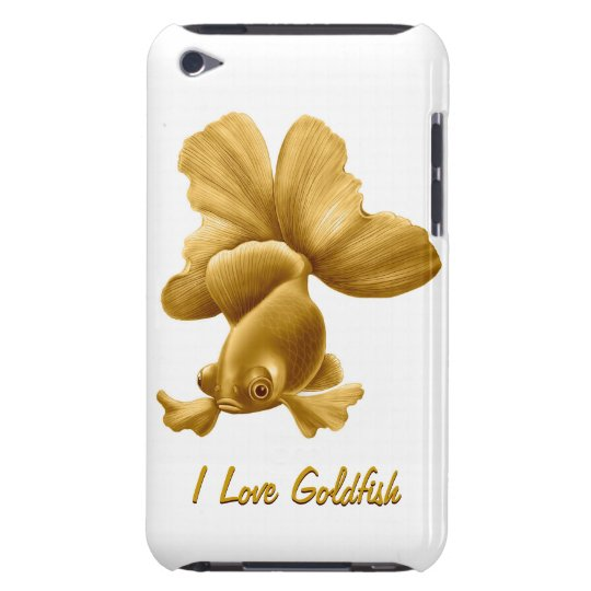 Black Moor Goldfish iPod Touch Case