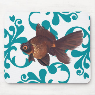 Black Moor Goldfish Mousepad