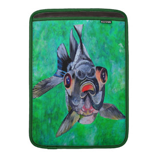 Black Moor Goldfish Sleeve For MacBook Air