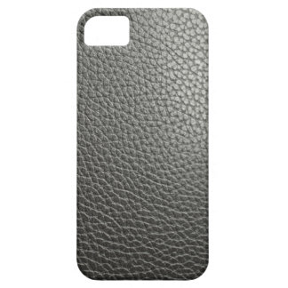 Black more leather iPhone SE/5/5s case