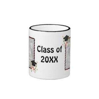 Black Mortar and Diploma Graduation Coffee Mugs