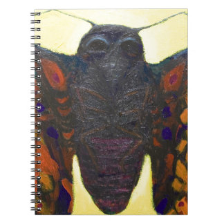 Black Moth (surreal insect painting) Notebooks