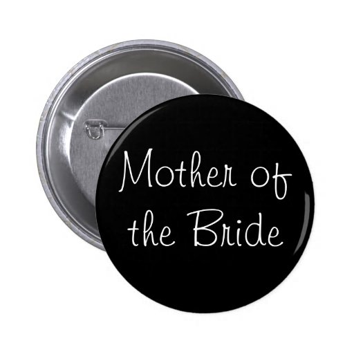 Black Mother of the Bride Pin