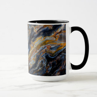 Black Mottled Pietersite Mug