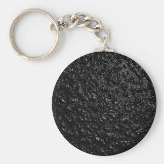Black Mottled Texture Key Chains