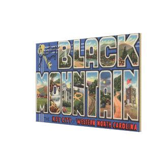 Black Mountain, North Carolina Canvas Print