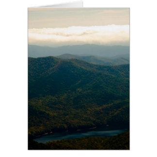 Black Mountains and Swannanoa River Card