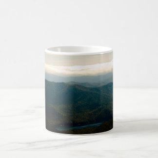 Black Mountains and Swannanoa River Coffee Mug