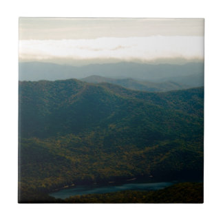 Black Mountains and Swannanoa River Tile