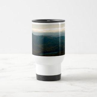Black Mountains and Swannanoa River Travel Mug