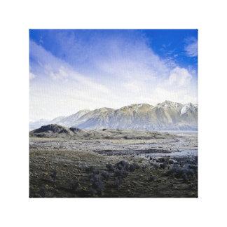 Black Mountains, New Zealand Canvas Print