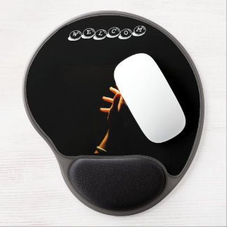 black mouse mat welcome gel mouse pad