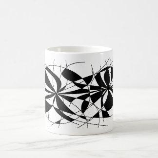 black muddle coffee mug