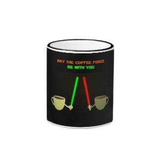 Black Mug The Caffee Force