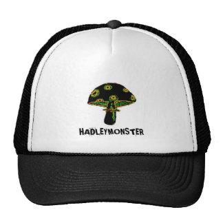 Black Mushroom Trucker Hat