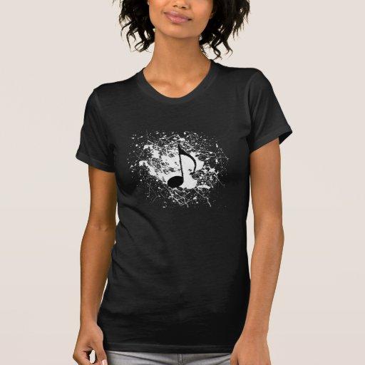 Black Music Splatter Shirt