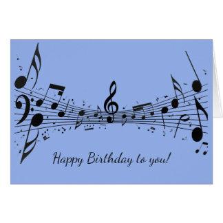 Happy Birthday Music Lover Classic Guitarist Card Zazzle