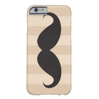 Black mustache and brown stripes iPhone 6 case iPhone 6 Case