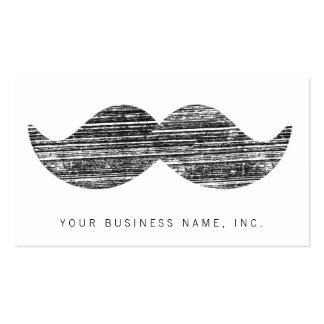 Black Mustache Business Card