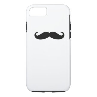 Black Mustache iPhone 7 Case