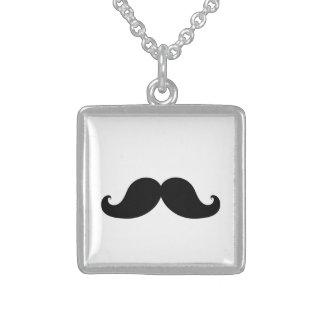 Black Mustache Necklace
