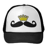 Black Mustache or Black Moustache for Fun Gifts Tr Trucker Hats