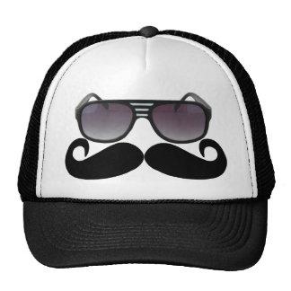 Black Mustache or Black Moustache for Fun Gifts Tr Trucker Hat