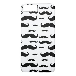 Black Mustache Pattern iPhone 7 Plus Case