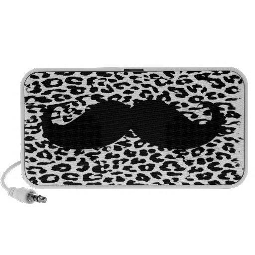Black Mustache Portable Speaker