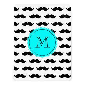 Black Mustachmustache black circle aqua 00ffff png Custom Invitations