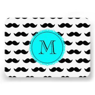 Black Mustachmustache black circle aqua 00ffff png Personalized Invite