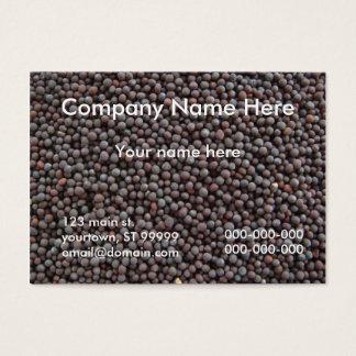 Black Mustard Seed Business Card