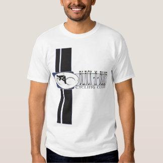 Black n Blue cycling Tee Shirt